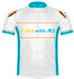 I Ride with MS Jersey front